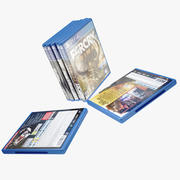 Игры для PS4 3d model