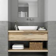 Meubilair en inrichting voor badkamers 6 3d model