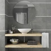 Meubilair en inrichting voor badkamer 8 3d model