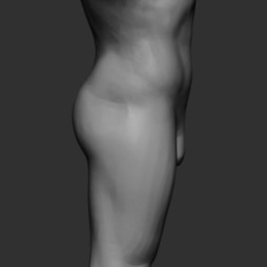Mannelijke anatomie v5 royalty-free 3d model - Preview no. 2