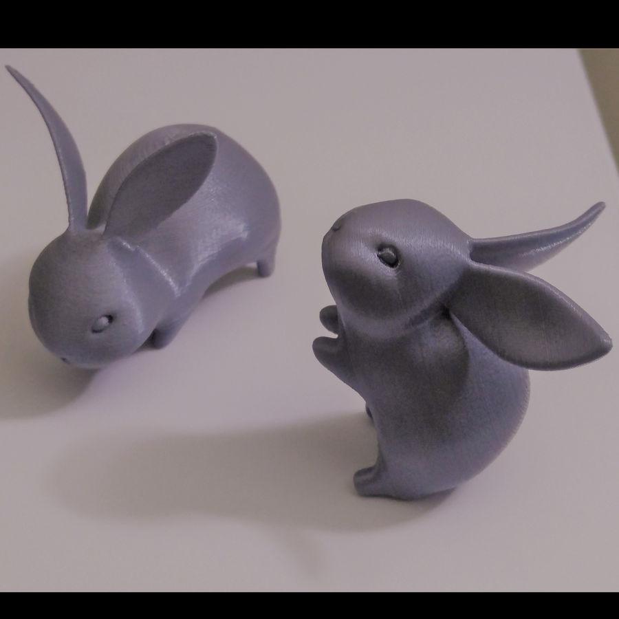 Baby Rabbit - Little Baguette royalty-free 3d model - Preview no. 8