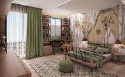 Safari Bedroom 3d model