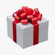 크리스마스 선물 상자 3d model
