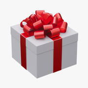 Noel hediye kutusu 3d model