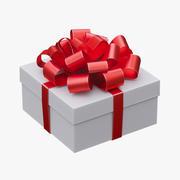 Christmas gift box 3d model