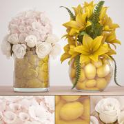 装饰花束 3d model