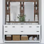 Meubilair en inrichting voor badkamers 11 3d model