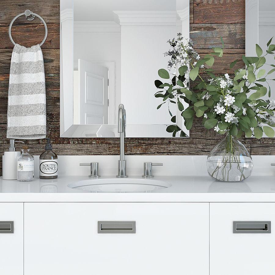 Meubilair en inrichting voor badkamers 11 royalty-free 3d model - Preview no. 6