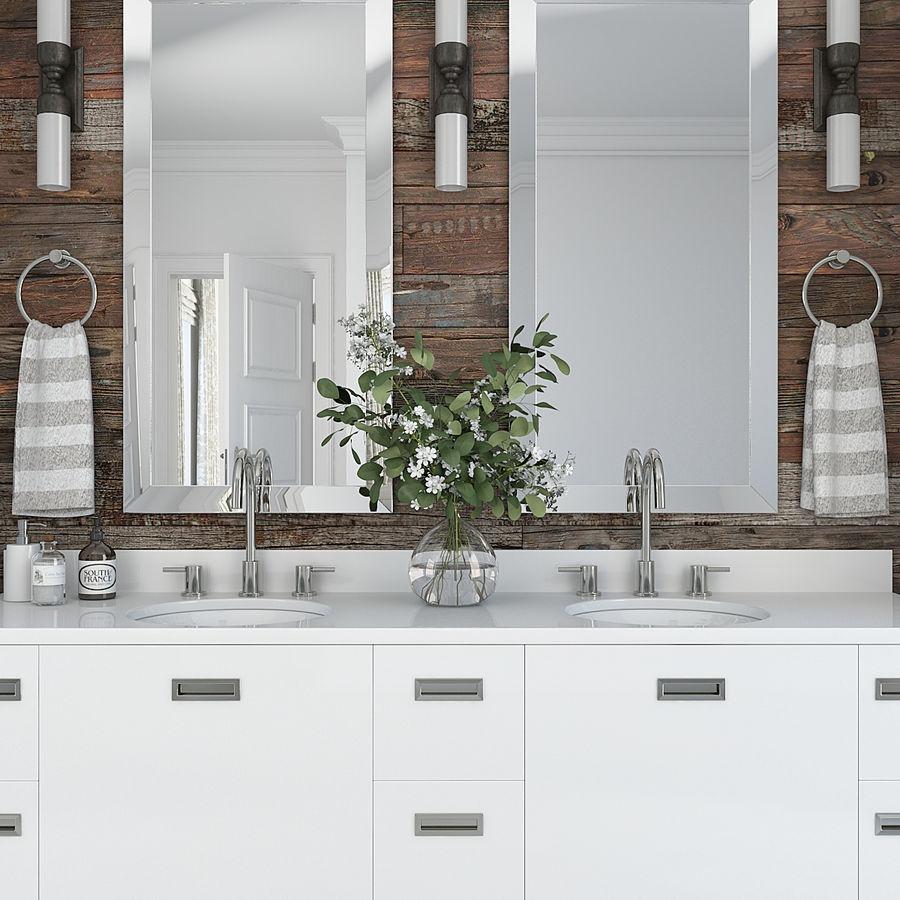 Meubilair en inrichting voor badkamers 11 royalty-free 3d model - Preview no. 7