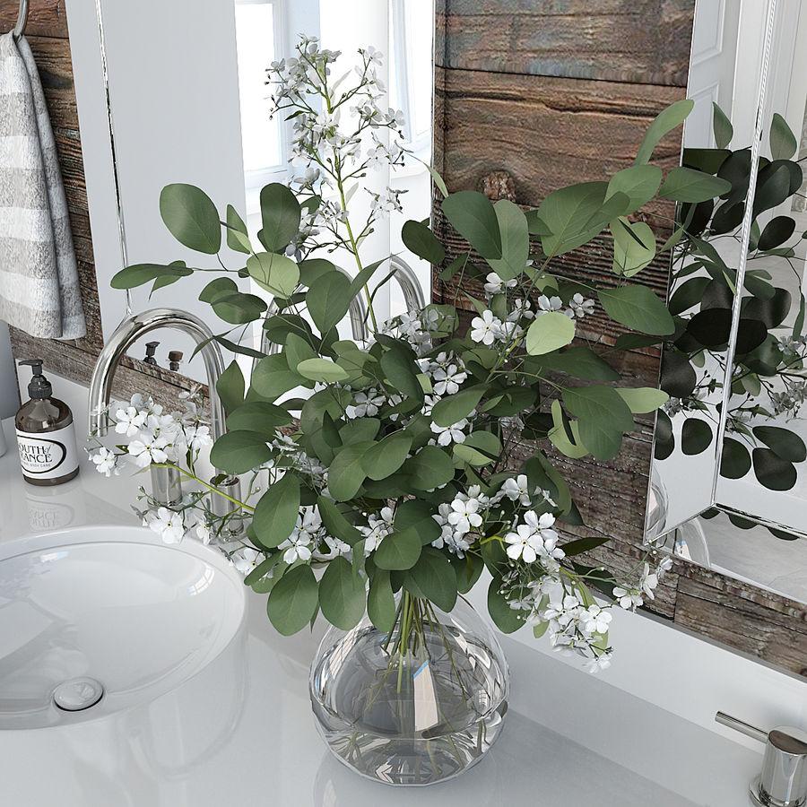 Meubilair en inrichting voor badkamers 11 royalty-free 3d model - Preview no. 5