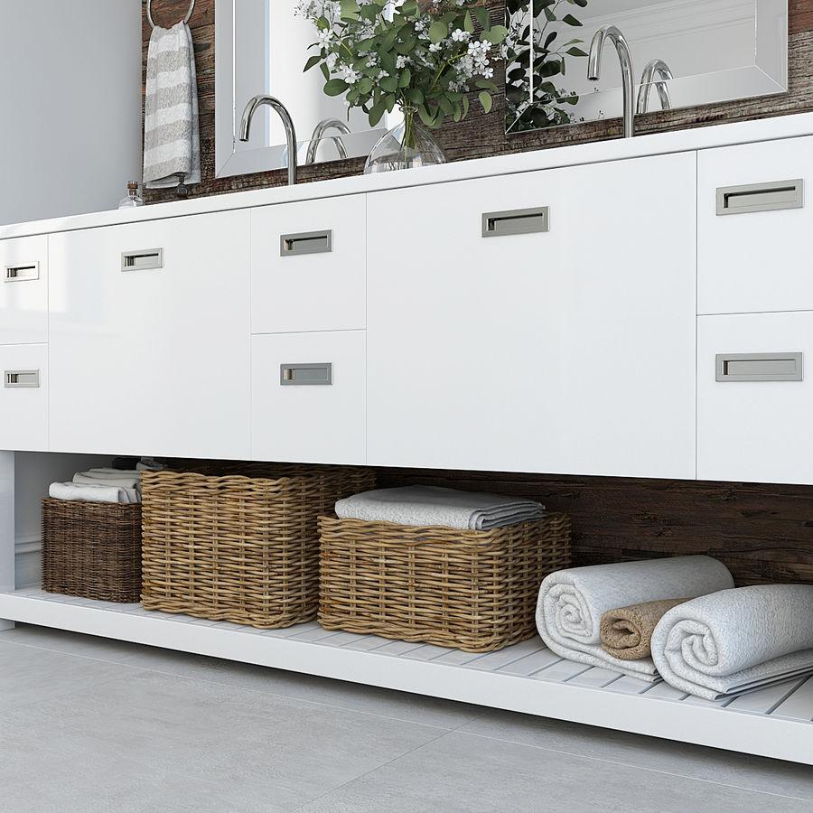 Meubilair en inrichting voor badkamers 11 royalty-free 3d model - Preview no. 3