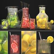 飲料コレクション 3d model