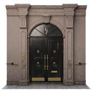 Ingång klassisk dörr 09 3d model
