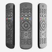 Smutsig TV-fjärrkontroll 3d model