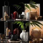 decorative set 07 3d model