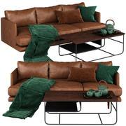 Artículo sofá Burrard modelo 3d