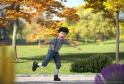 Realistisk barnpojke riggade för Maya 3d model