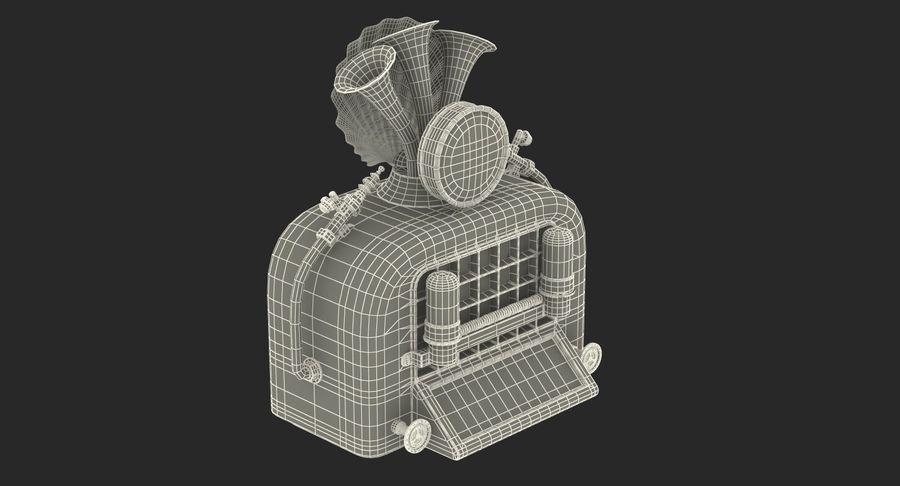 레트로 전자 제품 3D 모델 컬렉션 2 royalty-free 3d model - Preview no. 42