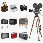 Retro Electronics 3D Models Collection 2 3d model