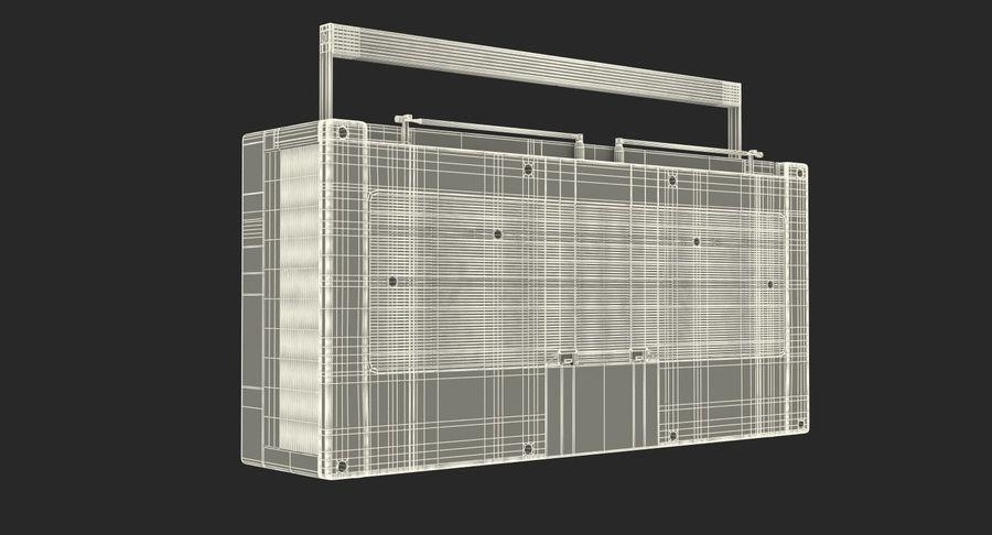 레트로 전자 제품 3D 모델 컬렉션 2 royalty-free 3d model - Preview no. 41