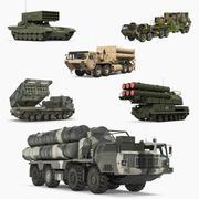 Askeri Roketatar Araçları Koleksiyonu 3d model