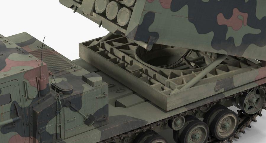 Askeri Roketatar Araçları Arma 3D Model Koleksiyonu royalty-free 3d model - Preview no. 54