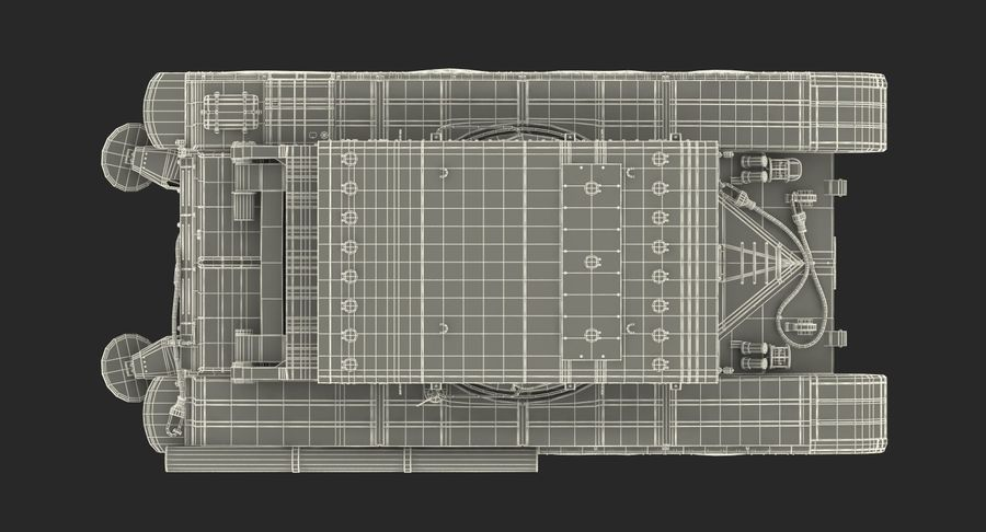 Askeri Roketatar Araçları Arma 3D Model Koleksiyonu royalty-free 3d model - Preview no. 75