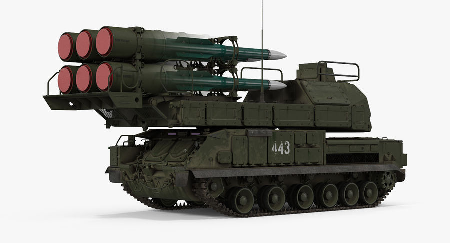 Askeri Roketatar Araçları Arma 3D Model Koleksiyonu royalty-free 3d model - Preview no. 6