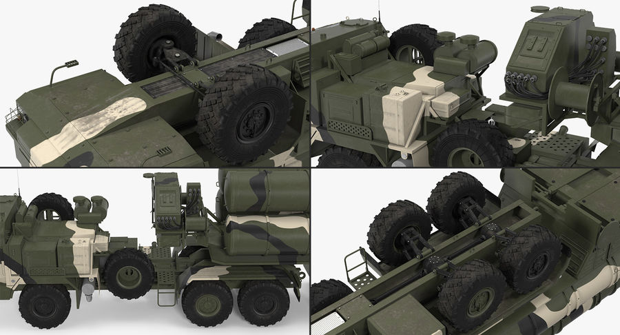 Askeri Roketatar Araçları Arma 3D Model Koleksiyonu royalty-free 3d model - Preview no. 36