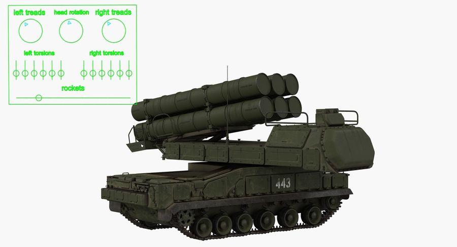Askeri Roketatar Araçları Arma 3D Model Koleksiyonu royalty-free 3d model - Preview no. 16