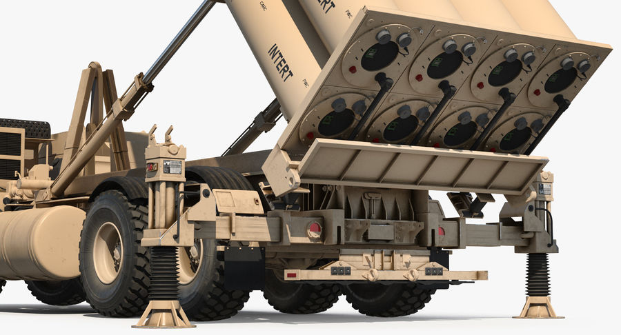Askeri Roketatar Araçları Arma 3D Model Koleksiyonu royalty-free 3d model - Preview no. 45