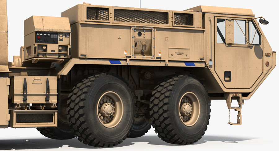 Askeri Roketatar Araçları Arma 3D Model Koleksiyonu royalty-free 3d model - Preview no. 44