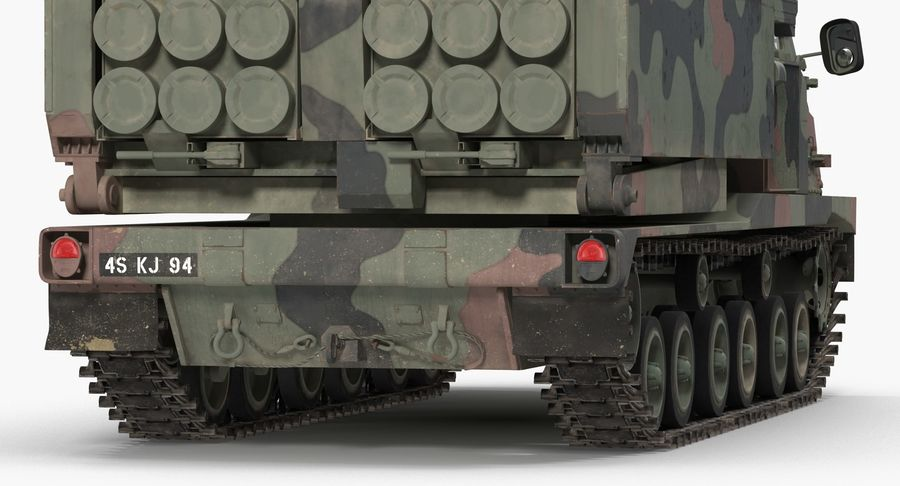 Askeri Roketatar Araçları Arma 3D Model Koleksiyonu royalty-free 3d model - Preview no. 53