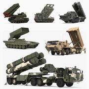 Askeri Roketatar Araçları Arma 3D Model Koleksiyonu 3d model
