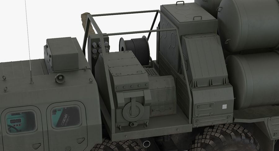 Askeri Roketatar Araçları Arma 3D Model Koleksiyonu royalty-free 3d model - Preview no. 22