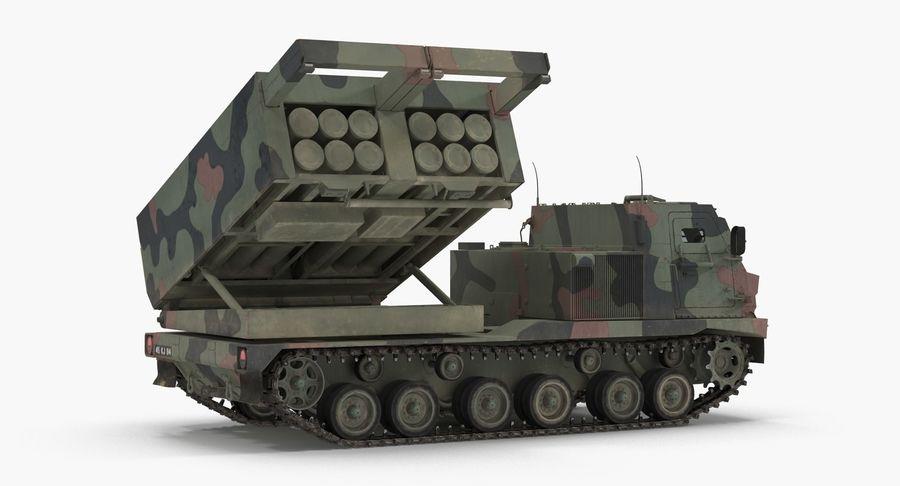 Askeri Roketatar Araçları Arma 3D Model Koleksiyonu royalty-free 3d model - Preview no. 49