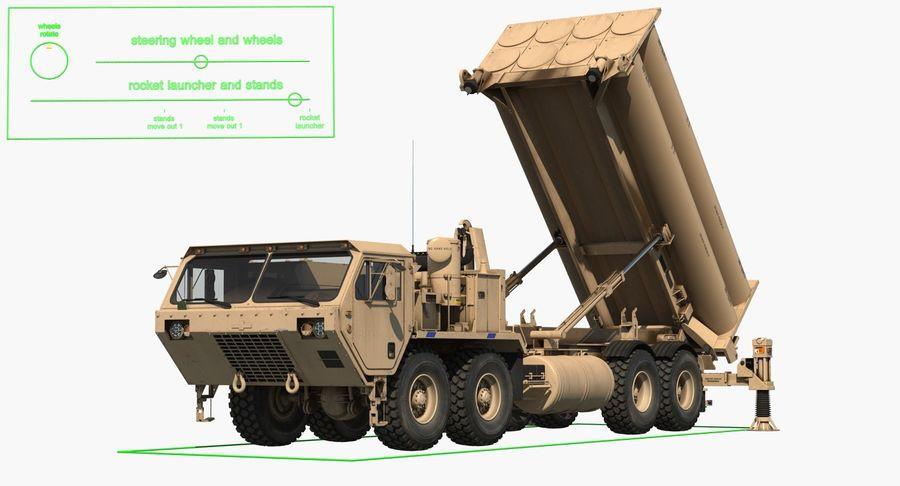 Askeri Roketatar Araçları Arma 3D Model Koleksiyonu royalty-free 3d model - Preview no. 47
