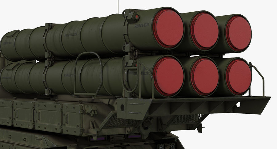 Askeri Roketatar Araçları Arma 3D Model Koleksiyonu royalty-free 3d model - Preview no. 10