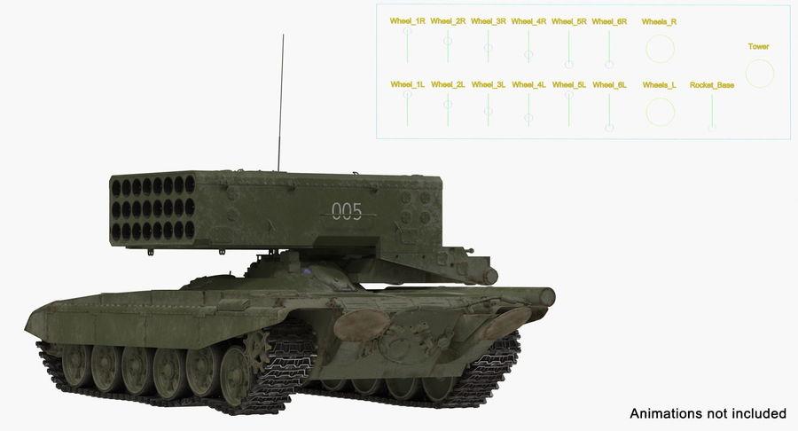 Askeri Roketatar Araçları Arma 3D Model Koleksiyonu royalty-free 3d model - Preview no. 67