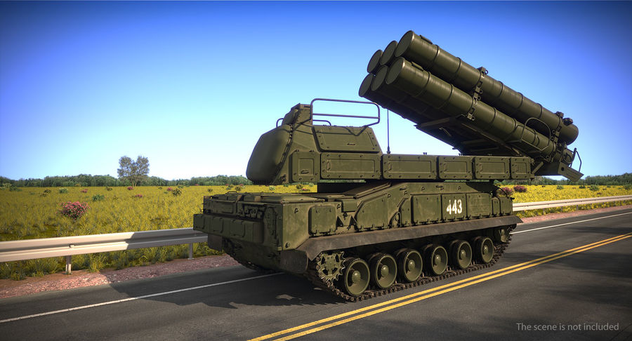 Askeri Roketatar Araçları Arma 3D Model Koleksiyonu royalty-free 3d model - Preview no. 4