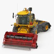 CMC Saturne 5800 Harvester Clean Rigged 3D Model 3d model
