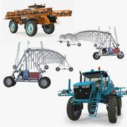 Bewässerungssammlung auf dem Bauernhof 3d model
