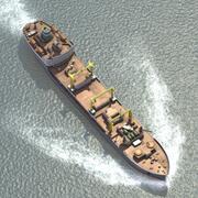 Bulk Carrier Ship 3d model