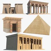 고대 이집트 컬렉션 3d model