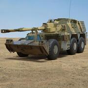 G6 howitzer 3d model