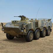 Transporte de personal blindado con ruedas Tipo 96 modelo 3d