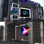 Concert Stages Collection 3d model