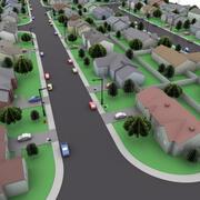 Quartiere 3d model