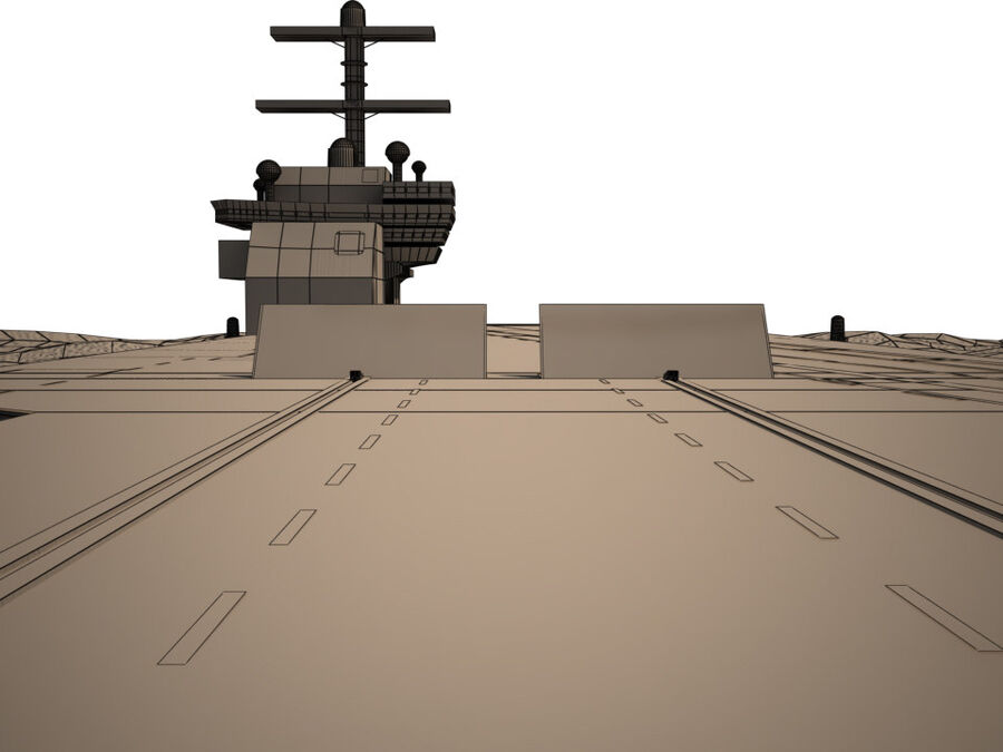 Aircraft Carrier(1) royalty-free 3d model - Preview no. 14