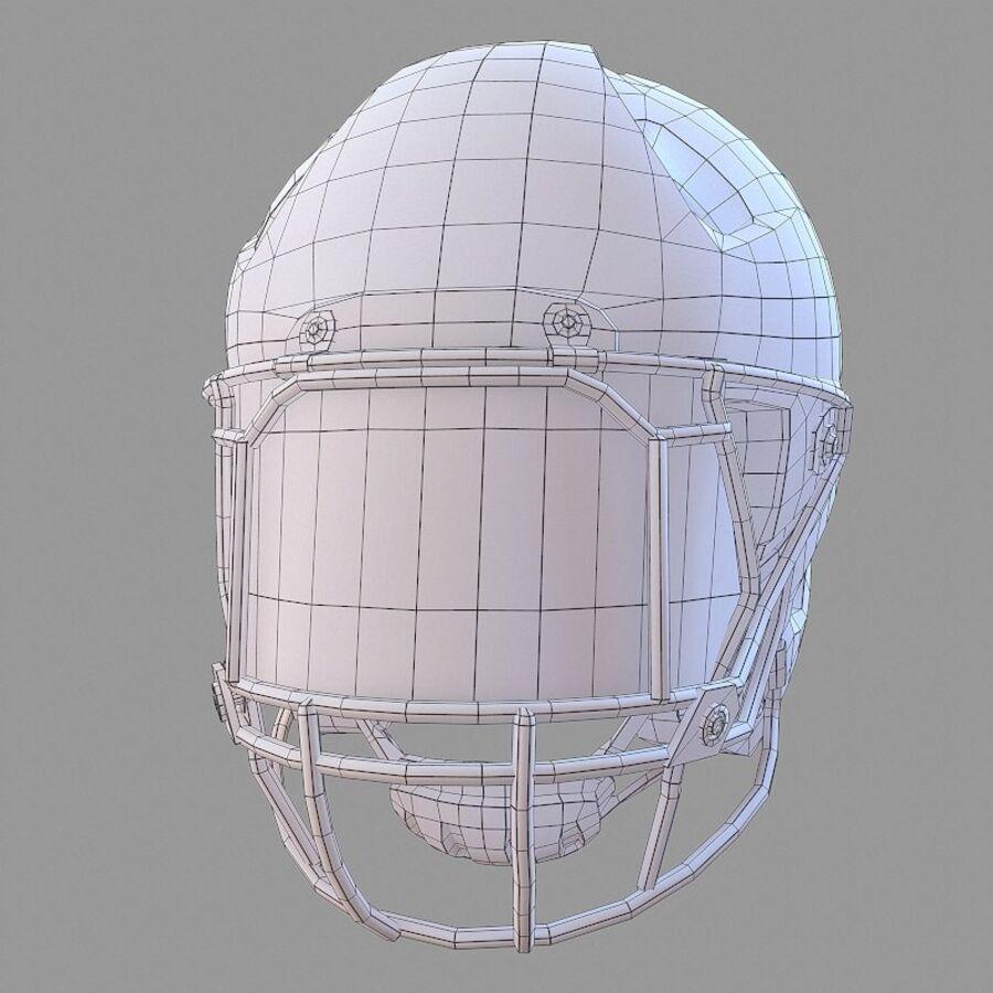 Jugador de fútbol americano Lowpoly royalty-free modelo 3d - Preview no. 21